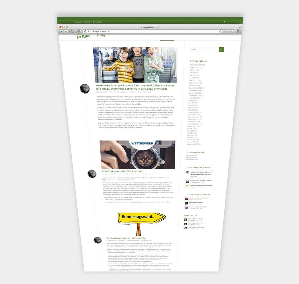idee pro porta website designshark. Black Bedroom Furniture Sets. Home Design Ideas